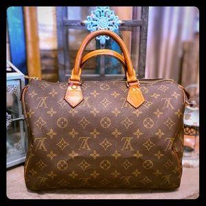 Vintage Louis Vuitton Speedy 30 💯% Authentic 👜